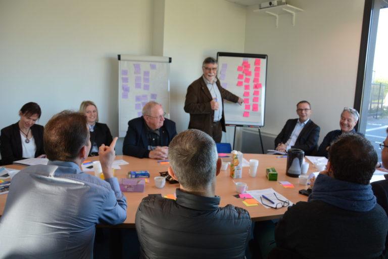 réunion chefs d'entreprise